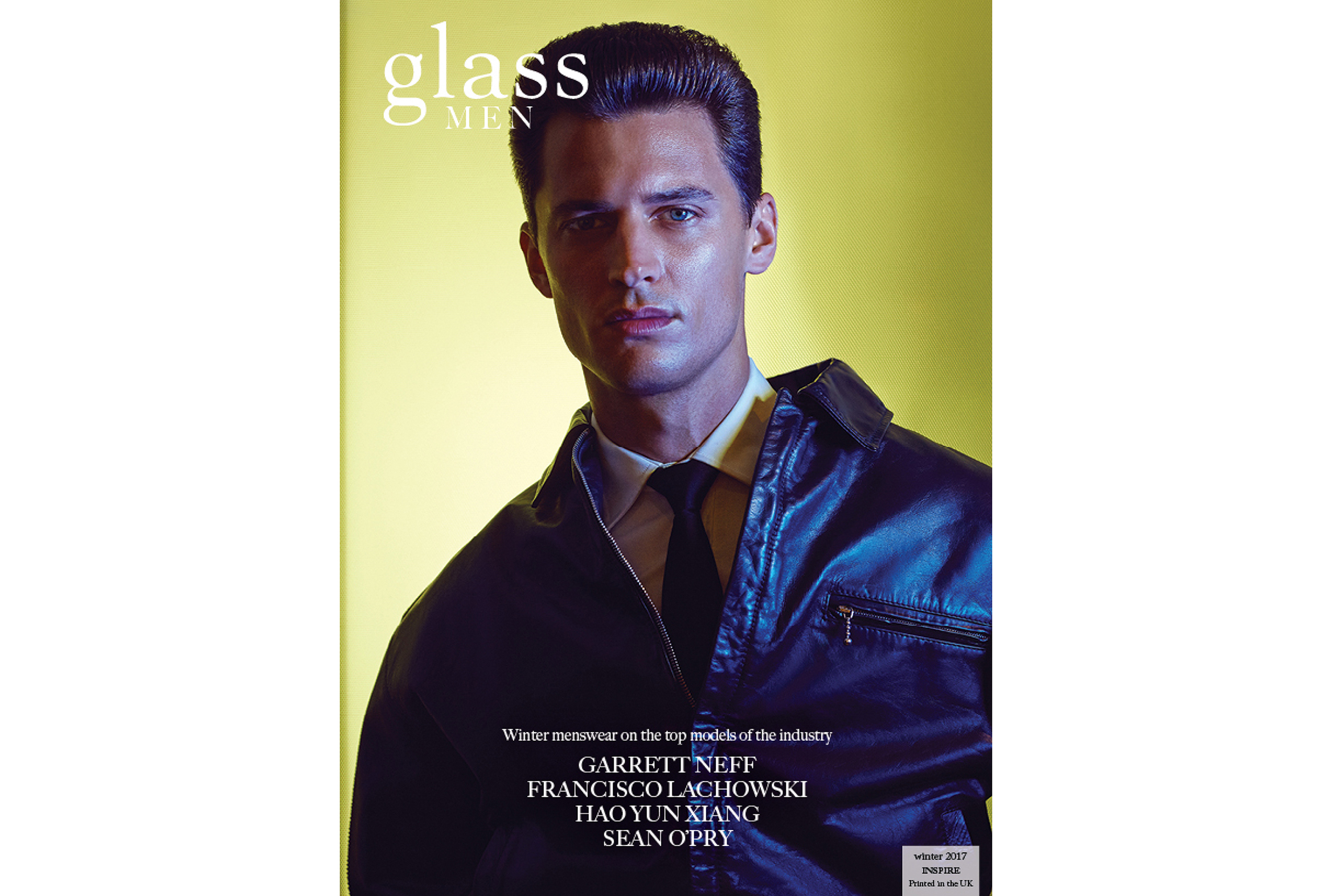 A Glass Magazine - Issue 32 - Inspire - Covers-Garrett