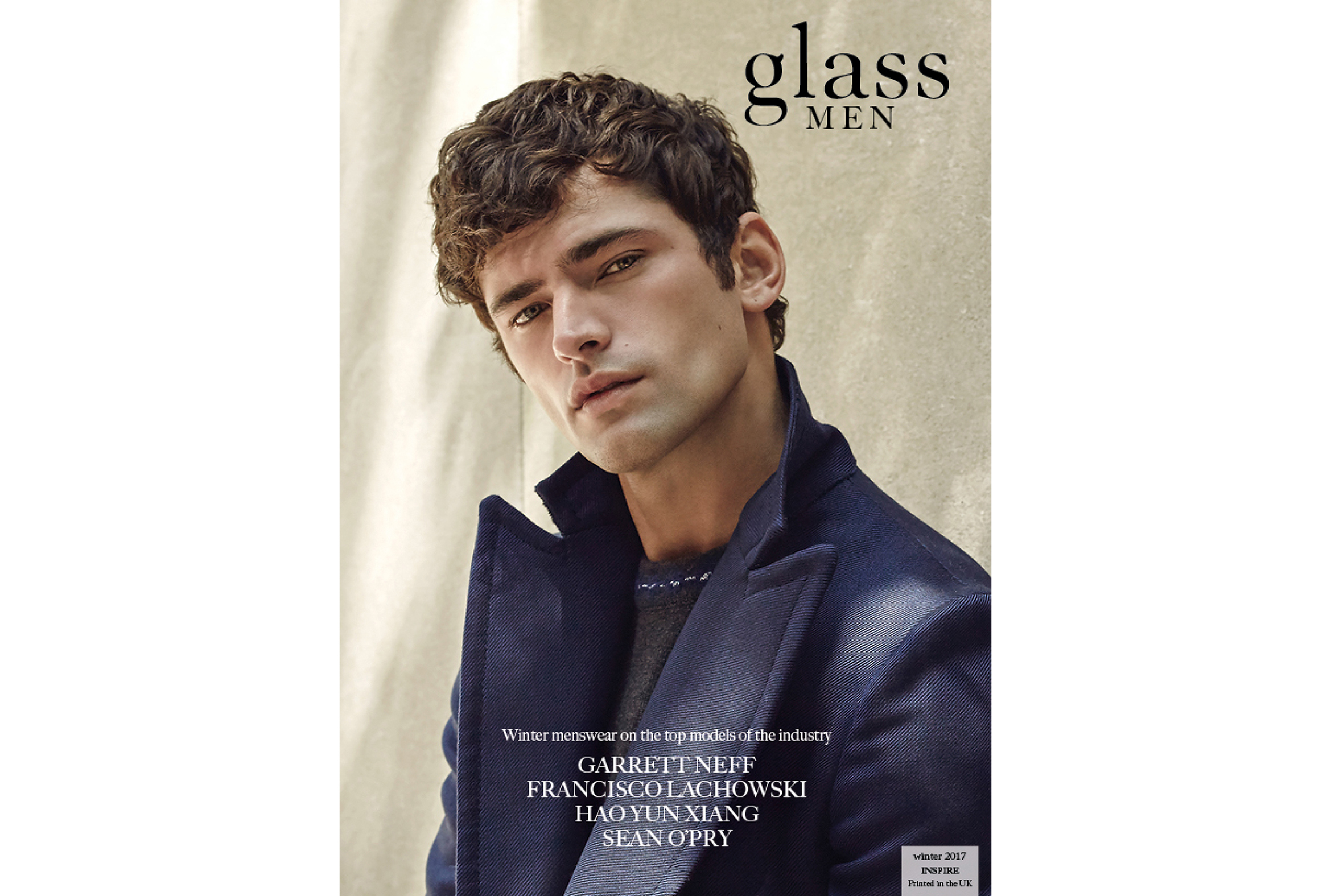 A Glass Magazine - Issue 32 - Inspire - Covers-Sean