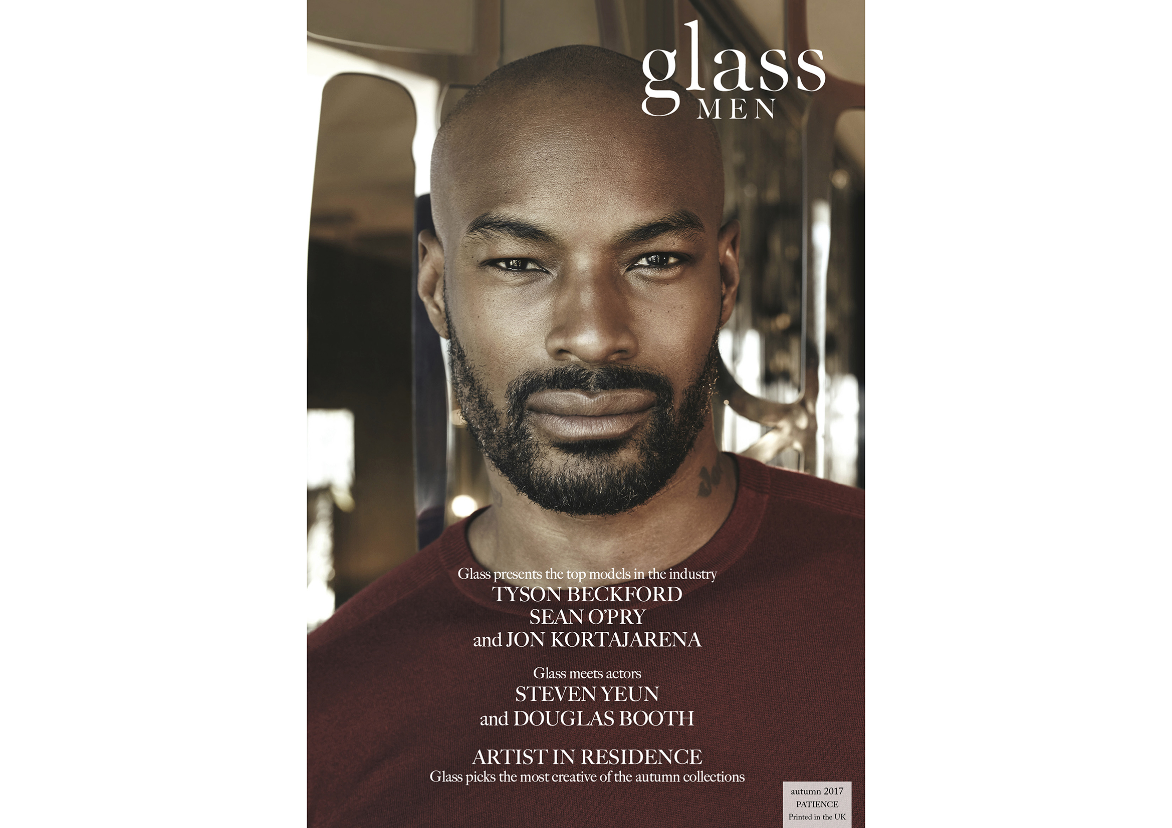 Glass Men-Issue 31-Patience-Tyson Cover