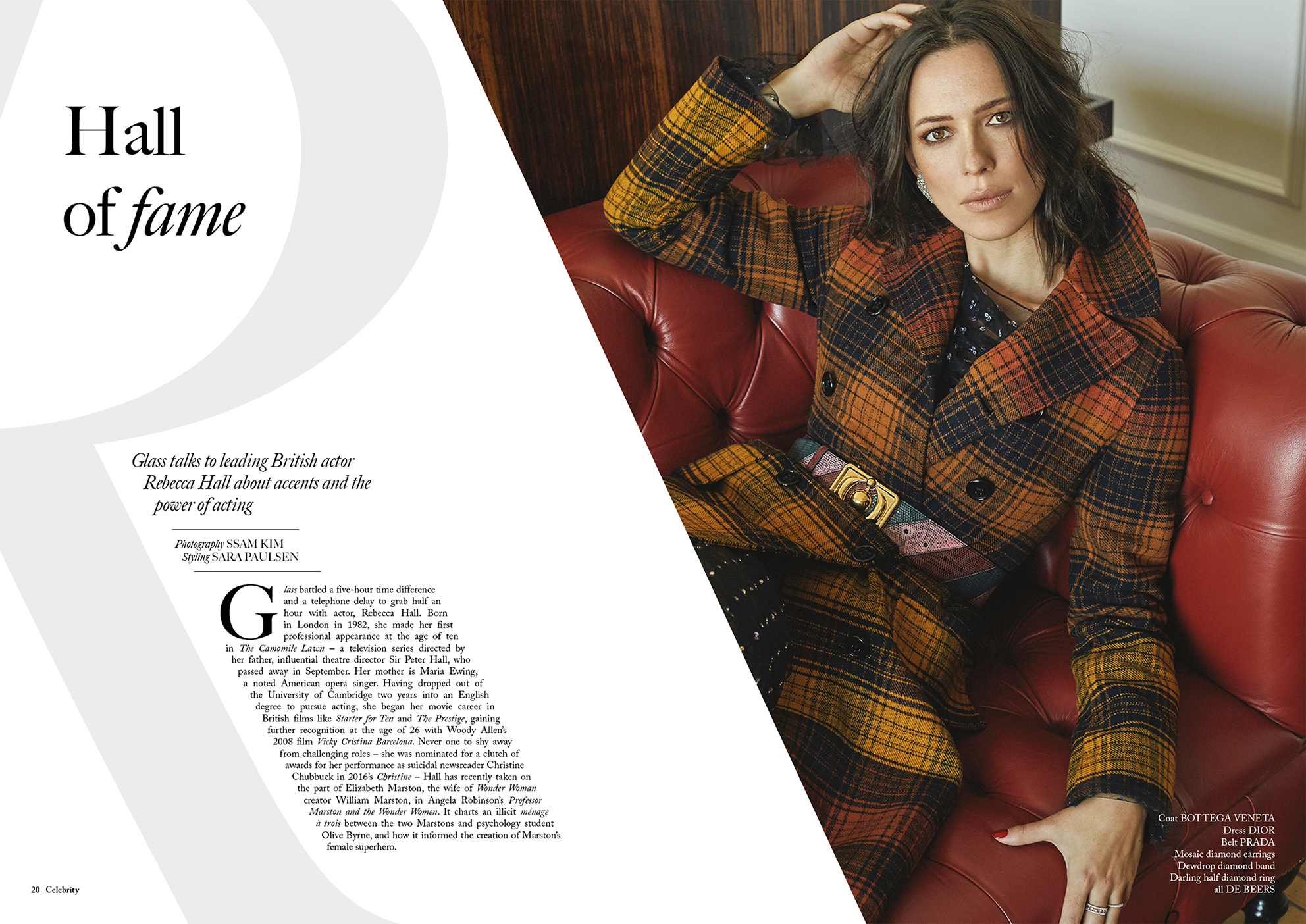 H Glass Magazine - Issue 32 - Inspire - Rebecca Hall-1